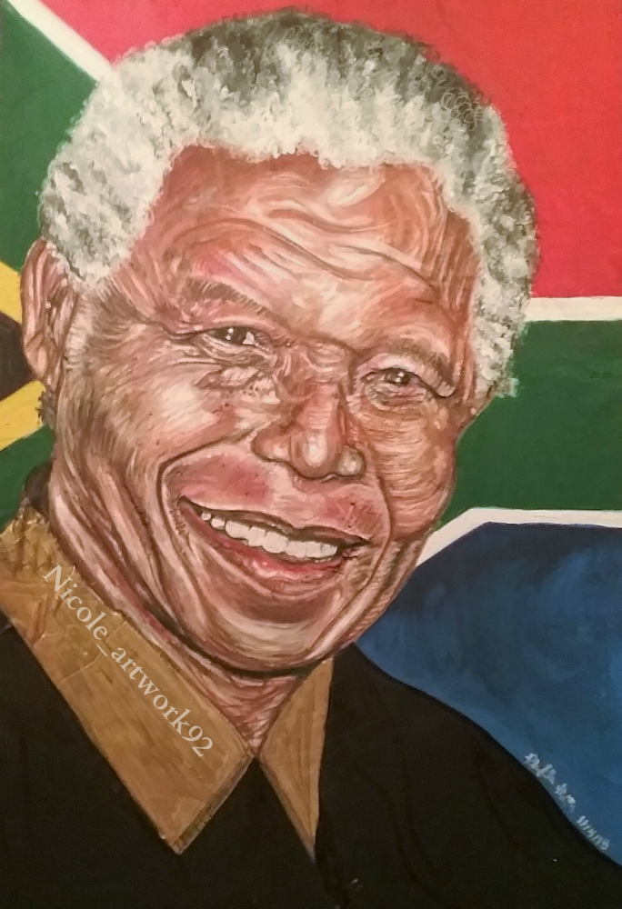 Nelson Mandela by NicoleBoo